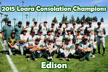 2015 Consolation Champion - Edison