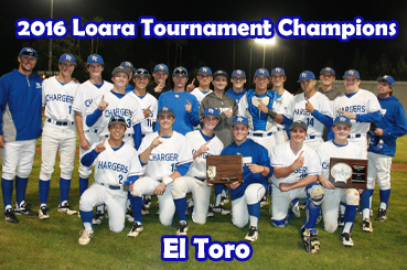 2016 Loara Tournament Champions - El Toro